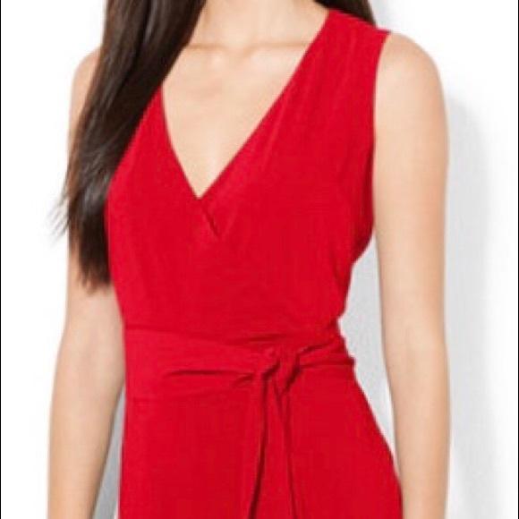 Lauren Ralph Lauren Pants Gorgeous Red Jumpsuit Poshmark